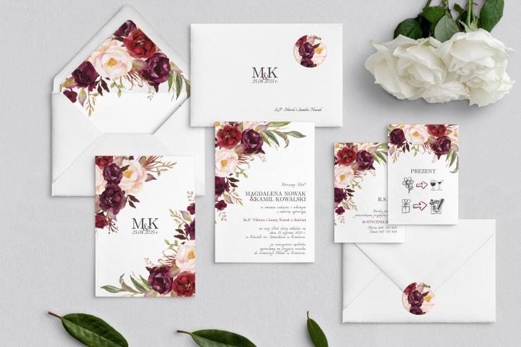 Zaproszenia ślubne Fabello - Motyw 2