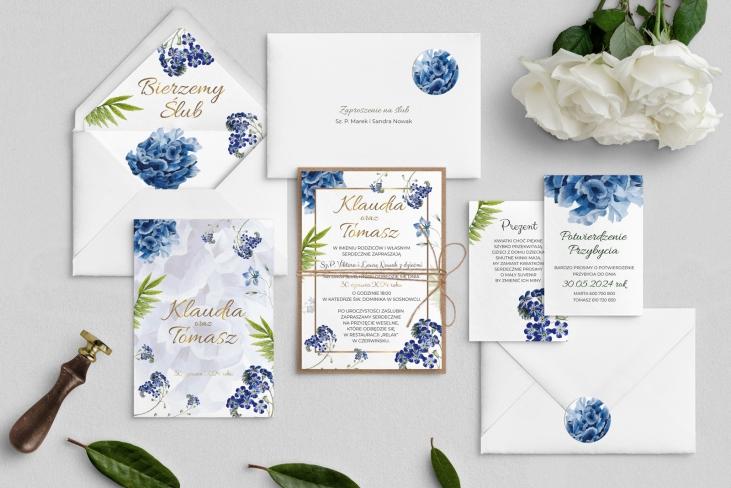 Zaproszenia ślubne Dream - Motyw 4