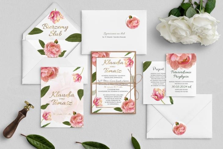 Zaproszenia ślubne Dream - Motyw 6