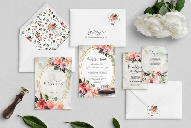Zaproszenia ślubne Spring Love - Motyw 7